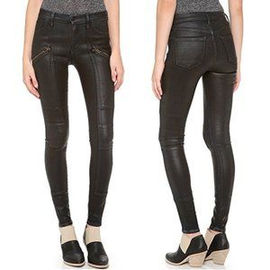 Citizens of Humanity Coated Moto Skinny Jeans